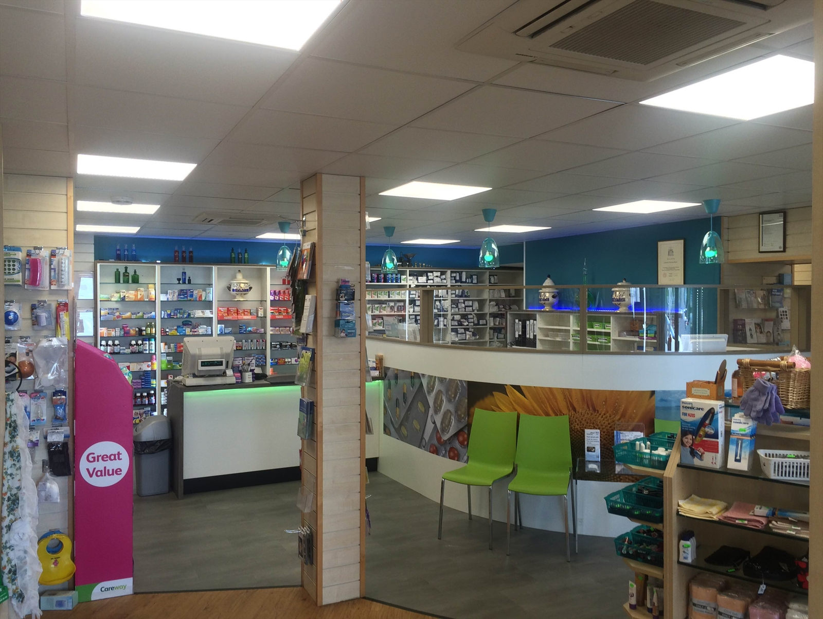 Pharmacy Re-fit Completed