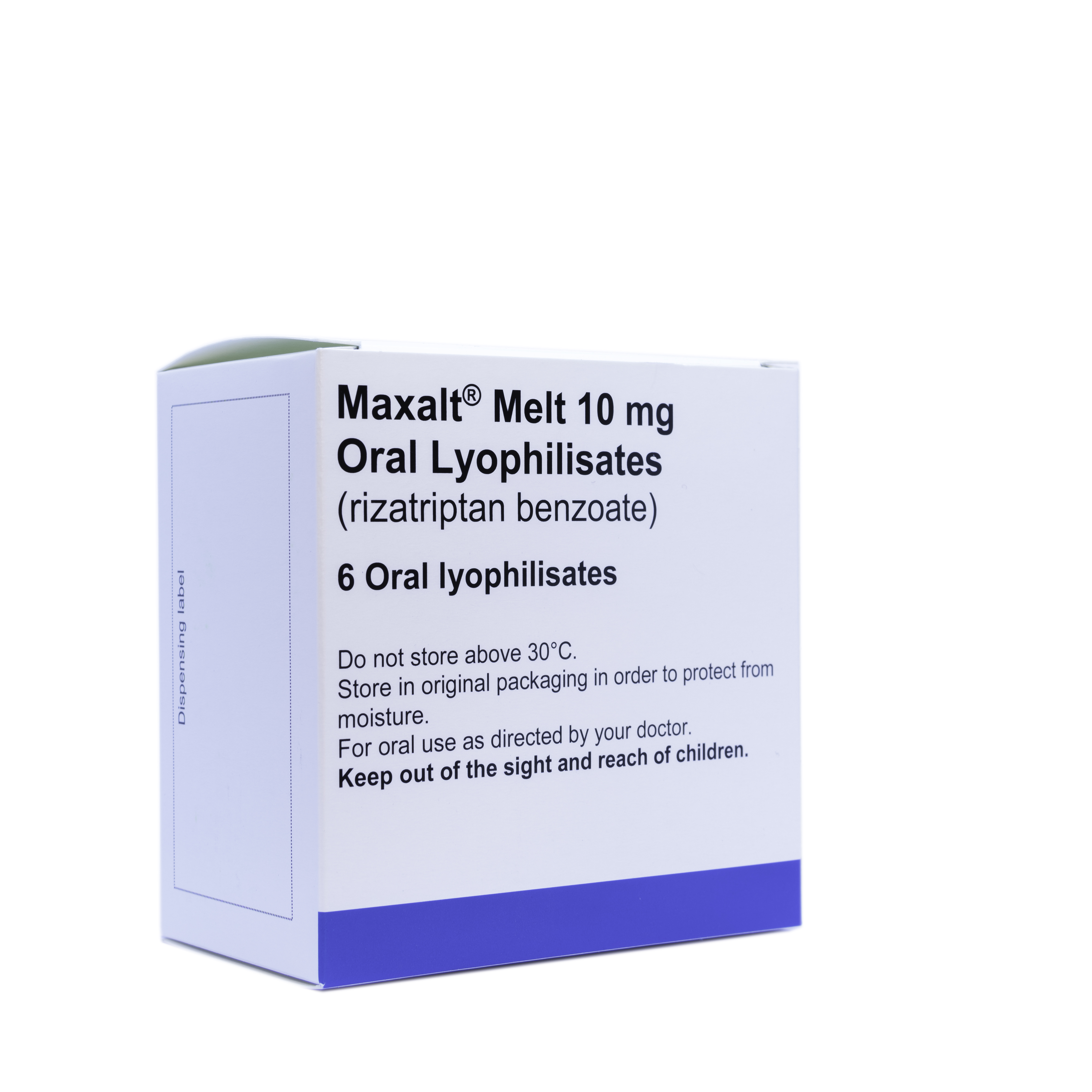 Maxalt Melts 10mg - 6 Tablets
