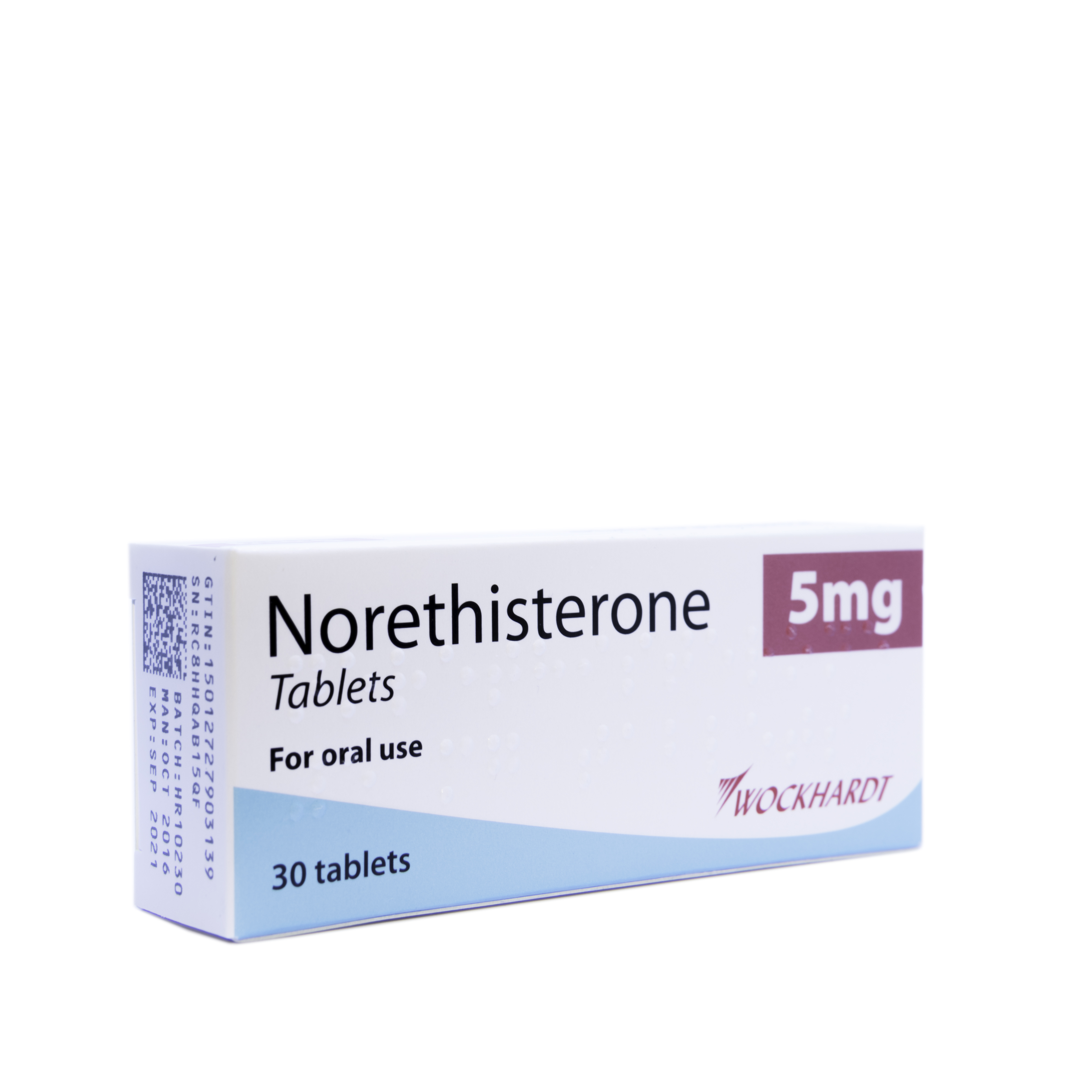Norethisterone 5mg - 30 Tablets